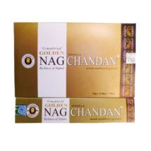 Füstölő, Golden Nag Chandan, 15gr
