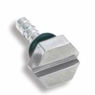 Piercing, Csavar formájú tágító, 316L orvosi acél