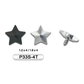 Piercing, Microdermal csillag formájú fej, 316L orvosi acél
