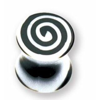 Piercing, Tágító (dugó), UV fénynél világító, akril