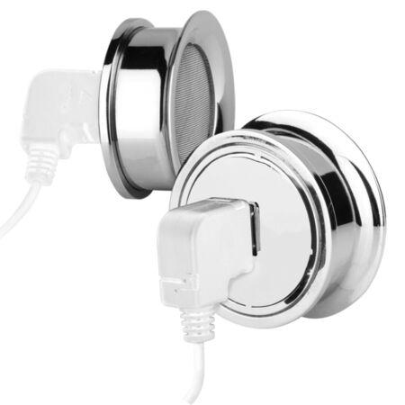 Piercing, Tágító (dugó), 316L orvosi acél, hangszóróval