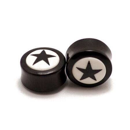 Piercing, Szaru fültágító, 12 * 12 mm