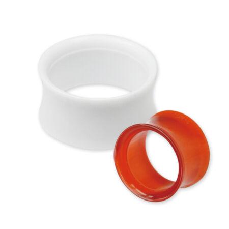 Piercing, Tágító (cső), UV fénynél világító, akril