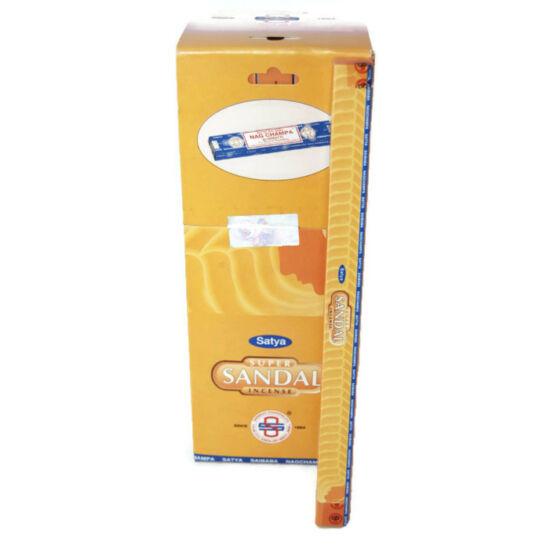 Füstölő, Satya Super Sandal 10 gr (hosszú szálas)