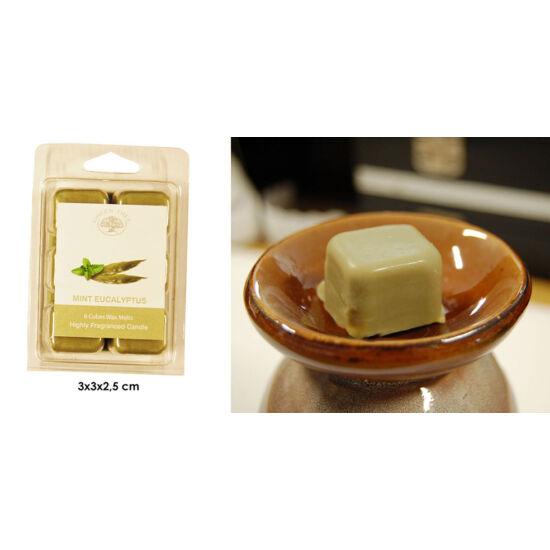 Mint Eucalyptus Green Tree Wax Melt -  viaszkocka