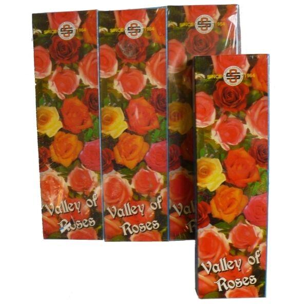 Prémium Füstölő, Satya Valley of Roses, 20 gr