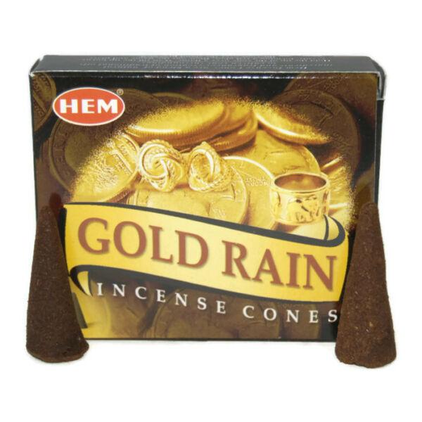 Kúpfüstölő, HEM Gold Rain
